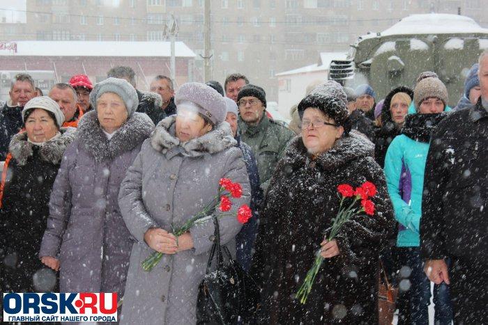 ВЕйске почтили память погибших влокальных конфликтах
