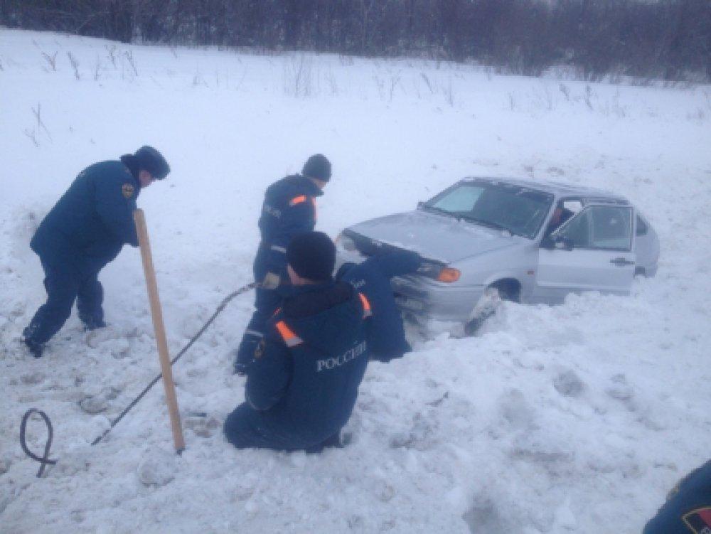 Cотрудники экстренных служб Оренбургской области пришли напомощь Скорой врачебной помощи
