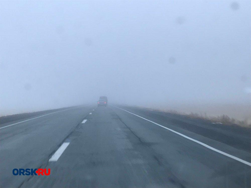 Иностранная машина сбила 3-х человек натрассе Оренбург— Орск