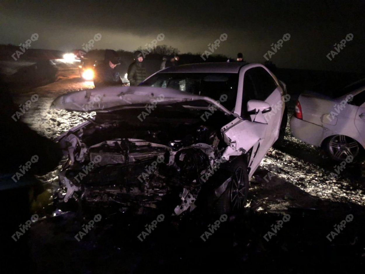 Подробности страшной аварии на трассе Гай — Орск